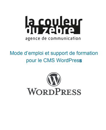 Tuto WordPress PDF